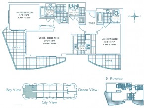 Ocean View Floor Plan